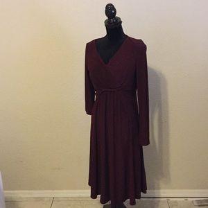 Jones New York Dress in Burgandy
